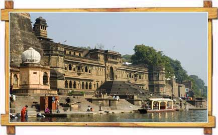 Ahilya Fort at Maheshwar in Madhya Pradesh