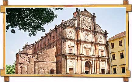 The Basilica of Bom Jesus