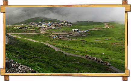 Bird's Eye View of Rohtang Paas