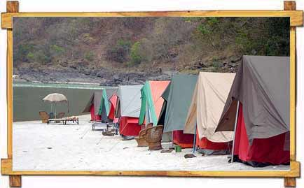 Camping River Ganges