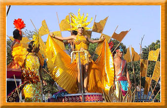 Three Day Long Carnival Fest in Goa