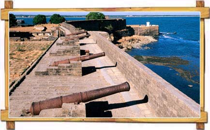 Grand Cannons Still Guarding The Portuguese Heritage