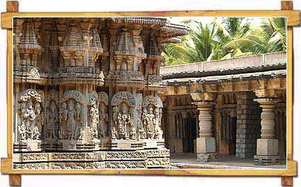 Magnificent Carvings on Keshva Temple