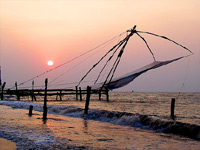 Fort Kochi Beach, Kerala