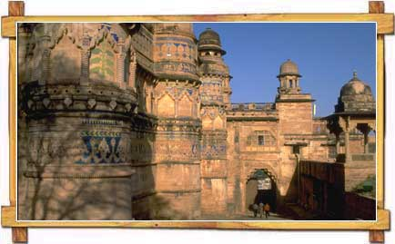 Entrance to Gwalior Fort
