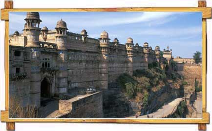 Panoramic View of Gwalior Fort