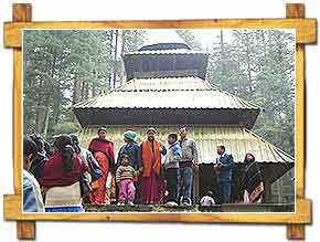 Hadimba Temple at Manali