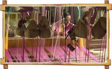 A Handloom Workshop of Madhya Pradesh