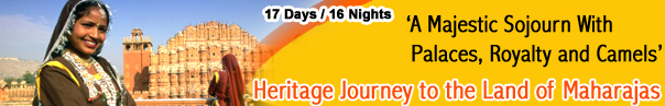 Heritage Journey to the Land of Maharajas - Rajasthan