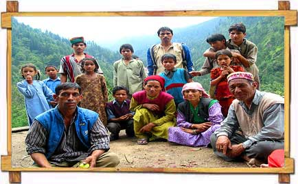 A Typical Himachali Family