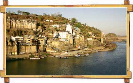 View of the Omkareshwar Hindu Temple