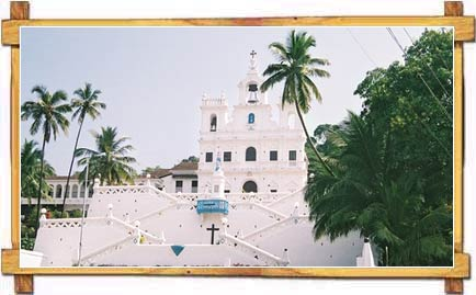 Holy Spirit Church in Goa