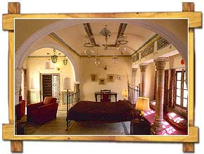 Room inside Castle Mandawa Hotel
