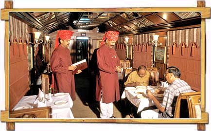 Inside Palace on wheels