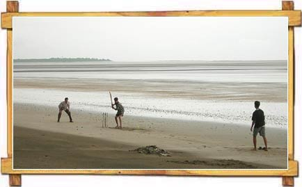 Children Having A Fun Time At Jampore Beach