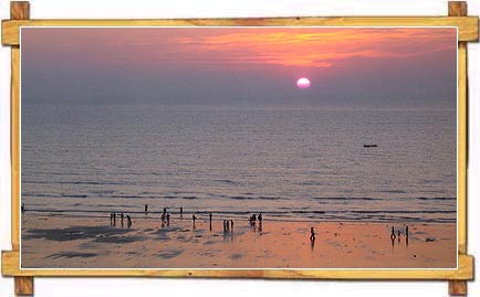 View of Juhu Beach from Ramada Plaza
