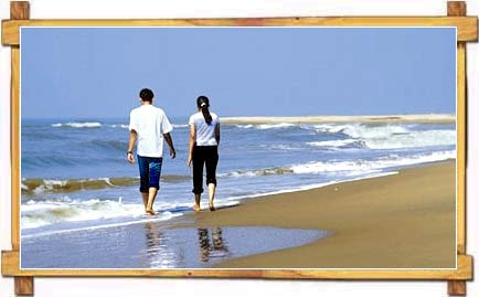 Couple on Karwar Beach