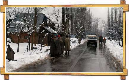Road Side of Kashmir