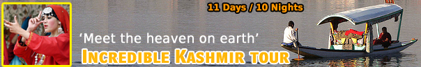 Incredible Tour To Kashmir