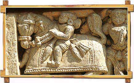 Stone Carving on Keshava Temple