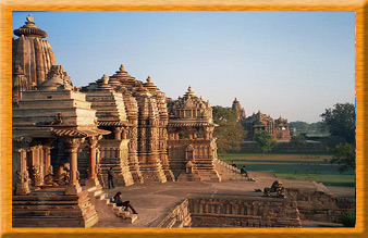Western Group of Khajuraho Temple Complex