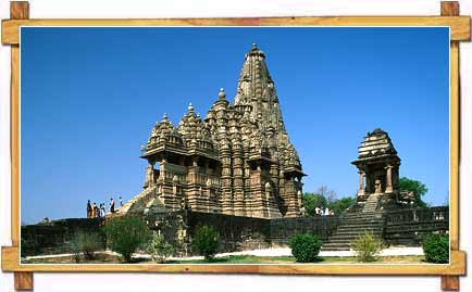 Khajuraho Temple - A Solitary Poetry In Stone
