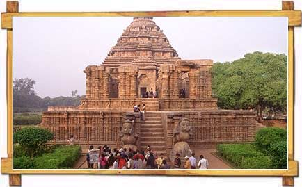 Konark Sun Temple In Orissa - A Poetry In Stone