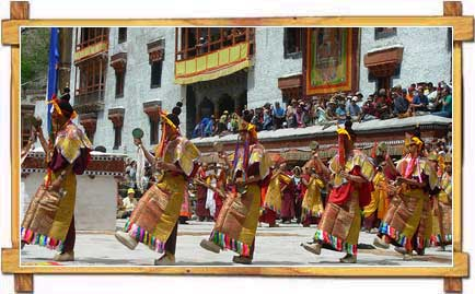 Performance During Ladakh Festival