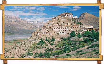 Monastery in Spiti Valley