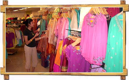 Shopping at a Cloth Shop in Bandra