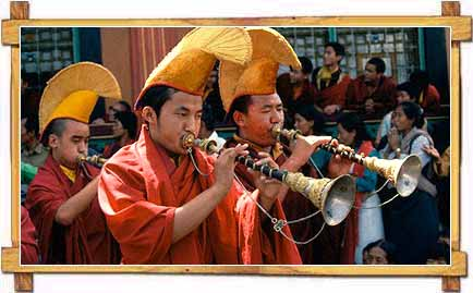 Musicians Playing at Lossoong Festival