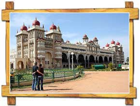 The Famous Palace of Mysore