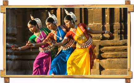 Odissi Dance During The Dance Festival At Konark