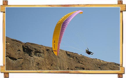 Paragliding at Pune