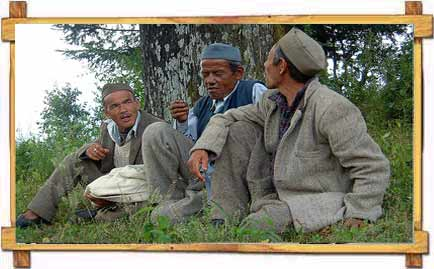 Men in Uttaranchal