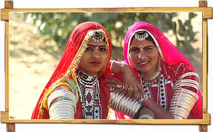 Rajasthani Traditional Women