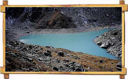 Satopanth Lake in Uttaranchal