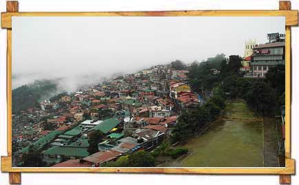 Hill Top VIew of Shimla Just After Heavy Showers