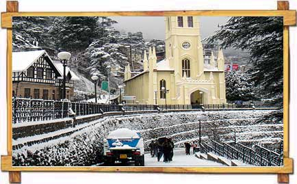 Snow Covered Shimla