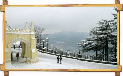 snowfall shimla - ~* Pic Of The Day 17 Jan 09 *~
