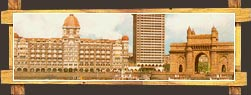 Taj Mahal Hotel with Gateway of India