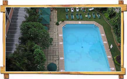 Swimming Pool At Hotel Taj Residency