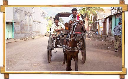 Tonga Ride at Bijapur