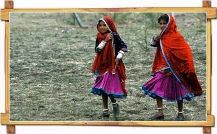 Tribal Girls of Madhya Pradesh
