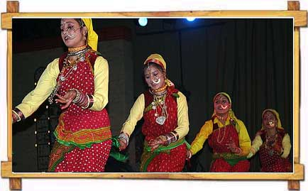 Dance in Uttaranchal