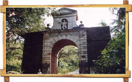 The Viceroy Arch , Old Goa